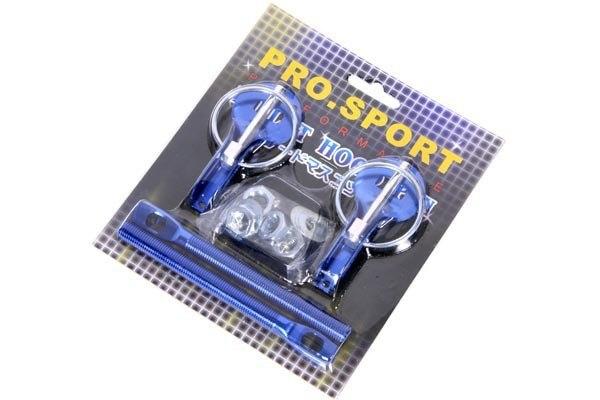 Zapinki maski PRO Blue - GRUBYGARAGE - Sklep Tuningowy